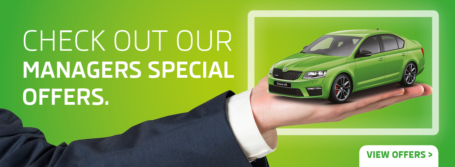 Platinum Skoda Manager Specials