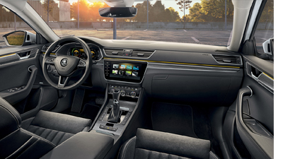 Skoda Superb IV Interior Image